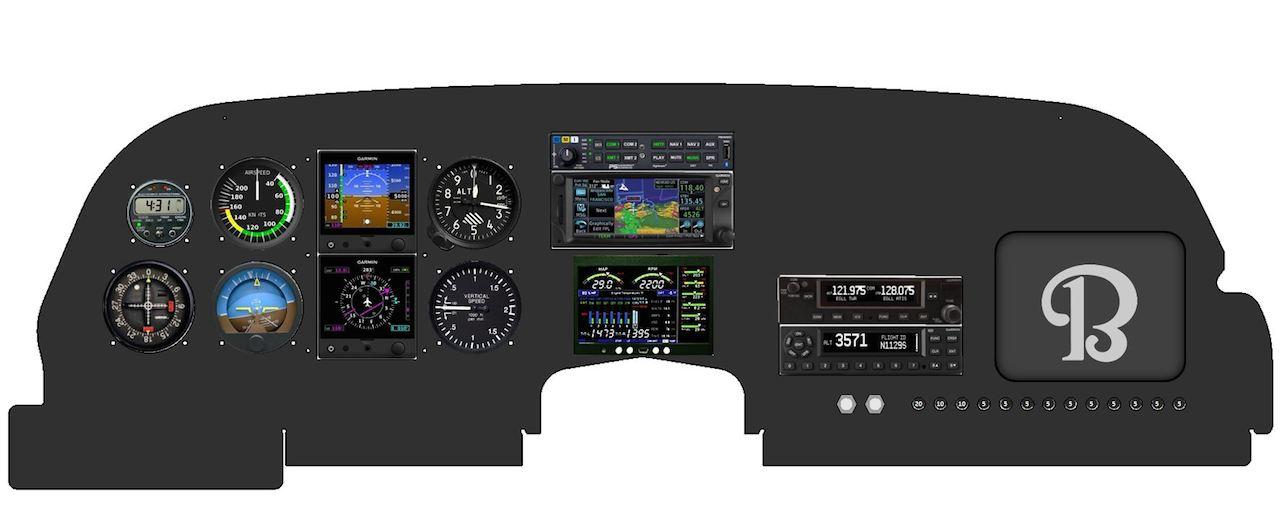 CSOBeech - McPeck Aviation: Bonanza Panel Mod, Anti-Wear