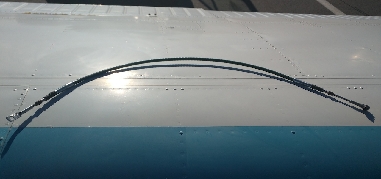 California Push Pull Cable : Csobeech beechcraft door cable replacement