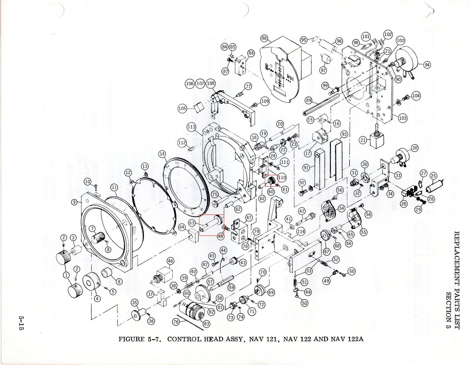 Narco Nav121_122 Parts csobeech aviation related pdfs bendix shower of sparks wiring diagram at mifinder.co