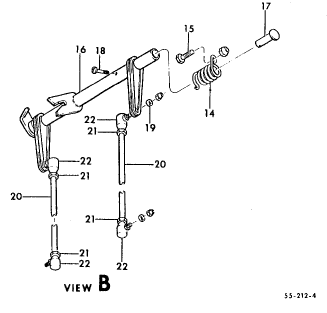 Beechtalk bt nose gear door spring mike caban wrote is it the 14 spring in this diagram on the rod at the top of the nose gear well ccuart Choice Image