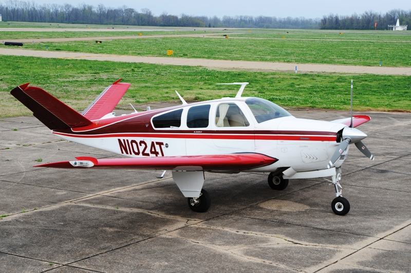 Here is a picture of BeechTalker  John B  s V35B after he spiffed up his  windows with the Gila Bronze static cling film. CSOBeech   Static Cling Window Tint for Beechcraft