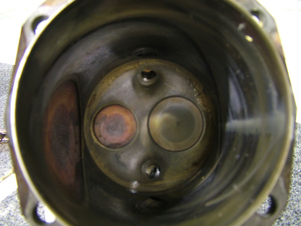 CSOBeech - TCM Burned Exhaust Valves